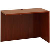 Boss N191-C Cherry Laminate Reversible Return Desk - 42 inch x 20 inch x 29 1/2 inch