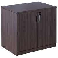 Boss N113-DW Driftwood Laminate Storage Cabinet - 31 inch x 22 inch x 29 1/2 inch