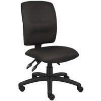 Boss B3035-BK Black Fabric Multi-Function Task Chair