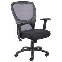 Boss B6508 Black Budget Mesh Task Chair