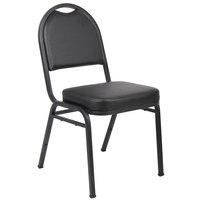 Boss B1500-CS-4 Black Caressoft™ Vinyl Banquet Chair