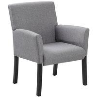 Boss B659-MG Grey Contemporary Guest Chair