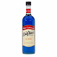 DaVinci Gourmet 750 mL Blue Curacao Classic Coffee Flavoring Syrup
