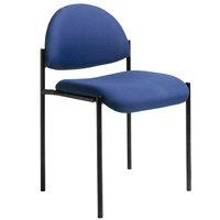 Boss B9505-BE Diamond Blue Stacking Chair