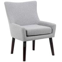Boss B769W-GR Granite Linen Accent Chair