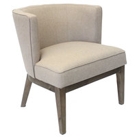 Boss B529DW-BG Beige Ava Accent Chair