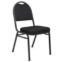 Boss B1500-BK-4 Black Crepe Banquet Chair