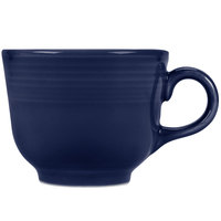 Homer Laughlin 452105 Fiesta Cobalt Blue 7.75 oz. Cup   - 12/Case