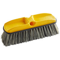 Rubbermaid FG9B3700GRAY 10 inch Gray Flagged Vehicle and Wall Cleaning Brush