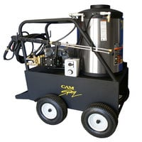 Cam Spray 1500QE Portable Electric Hot Water Pressure Washer with 50' Hose - 1500 PSI; 3.0 GPM