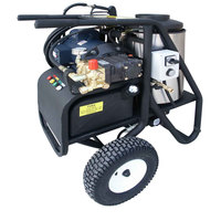 Cam Spray 20005SHDE Portable Electric Hot Water Pressure Washer with 50' Hose - 2000 PSI; 3.0 GPM