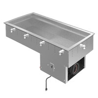 Vollrath FC-4C-03120-N Three Pan NSF7 Modular Drop In Refrigerated Cold Food Well - 120V