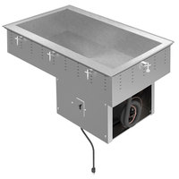 Vollrath FC-4C-02120-R Two Pan Standard Drop In Refrigerated Cold Food Well - 120V