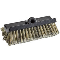 Carlisle 3649700 Sparta Flo Thru 10 inch Flagged Dual Surface Vehicle and Wall Cleaning Brush