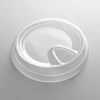 Fabri-Kal SLKC12/24 Kal-Clear / Nexclear 12 / 14, 16 / 18, 20, and 24 oz. Clear Plastic Strawless / Sip Lid - 100/Pack