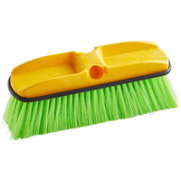Rubbermaid FG9B7200GRN 10 inch Green Flagged Vehicle and Wall Cleaning Brush