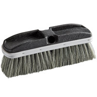 Carlisle 3646700 Flo Thru 10 inch Tampico Vehicle and Wall Cleaning Brush