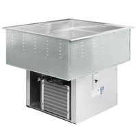 Vollrath FC-4C-02120-N Two Pan NSF7 Modular Drop In Refrigerated Cold Food Well - 120V