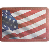 Choice 10 inch x 14 inch Patriotic Paper Placemat   - 1000/Case