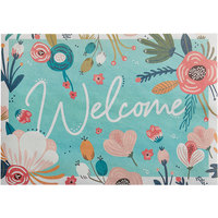 Choice 10 inch x 14 inch Welcome Paper Placemat   - 1000/Case