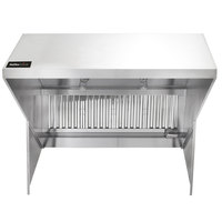 Halifax EXHP848 Type 1 8' x 48 inch Commercial Kitchen Hood System