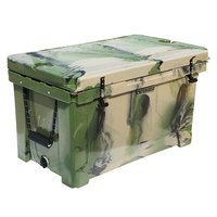 CaterGator CG100CAMO Camouflage 100 Qt. Rotomolded Extreme Outdoor Cooler / Ice Chest