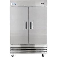 Avantco A-35F-HC 40 inch Solid Door Reach-In Freezer