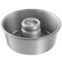 Chicago Metallic 46535 7 1/2 inch Glazed Aluminum Customizable Angel Food Cake Pan - 3 inch Deep