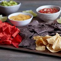 Mission 30 lb. 4-Cut Tri-Color Unfried Tortilla Chips