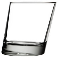 Libbey 11006821 Pisa 11.75 oz. Slanted Double Rocks / Old Fashioned Glass - 12/Case