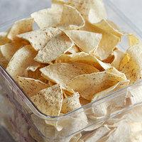 Mission 30 lb. 4-Cut White Unfried Tortilla Chips