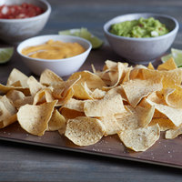 Mission 20 lb. 4-Cut Thin White Unfried Tortilla Chips