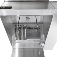 Halifax BRPHP1848 Type 1 18' x 48 inch Commercial Kitchen Hood System with BRP Makeup Air