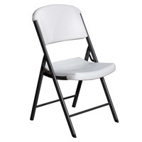 Lifetime 22804 White Classic Folding Chair