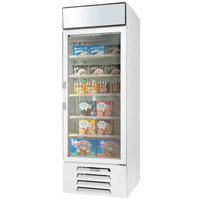 Beverage-Air MMF23HC-1-W-IQ MarketMax 27 inch White Glass Door Merchandiser Freezer with Electronic Lock