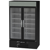 Beverage-Air MMF44HC-1-W-IQ MarketMax 47 inch White Glass Door Merchandiser Freezer with Electronic Lock