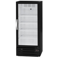 Beverage-Air MMR12HC-1-B-IQ MarketMax 24 inch Black Refrigerated Glass Door Merchandiser with Electronic Lock