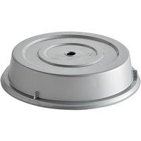 Cambro 1202CW486 Camwear 12 1/8 inch Silver Metallic Camcover Plate Cover - 12/Case