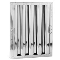 NAKS STAINLESS_20_16_2 20 inch(H) x 16 inch(W) x 2 inch(T) Stainless Steel Grease Hood Filter