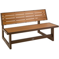 Lifetime 60139 Brown Convertible Bench / Table