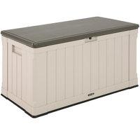 Lifetime 60186 116 Gallon Heavy-Duty Outdoor Storage Deck Box