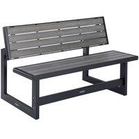Lifetime 60253 Gray Convertible Bench / Table