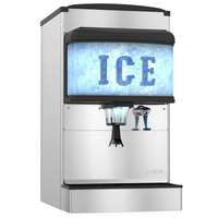 Hoshizaki DM-4420N 22 inch Countertop Cubelet Ice and Water Dispenser - 200 lb. Ice Storage Capacity