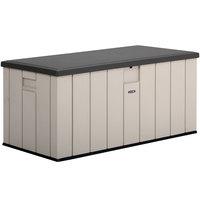 Lifetime 60254 150 Gallon Heavy-Duty Outdoor Storage Deck Box