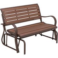 Lifetime 60290 Mocha Brown Glider Bench