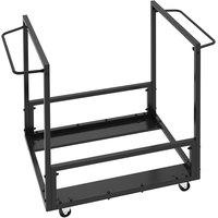 Lifetime 80279 Black Folding Chair Cart