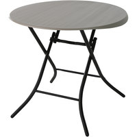 Lifetime 80230 33 inch Putty Round Folding Table