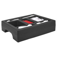 Cambro LCDCH10110 Black Condiment Holder for Cambro 1000LCD / UC1000
