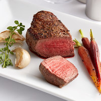 Warrington Farm Meats 6 oz. Frozen Filet Mignon Steak - 27/Case