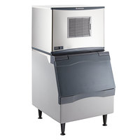 Scotsman C0330MA-1 Prodigy Series 30 inch Air Cooled Medium Cube Ice Machine with Ice Storage Bin and Advanced Sustainability Kit - 400 lb.